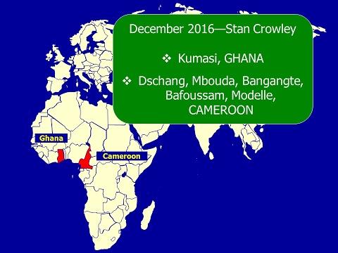 Stan Crowley Ghana & Cameroon Trip Report 2016 (NOT 2017)