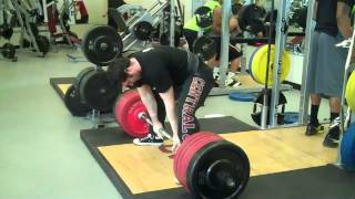 Sumo deadlifting tutorial with Ben Rice Universal Nutrition Athlete