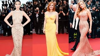 10 BEST DRESSED CELEBRITIES at CANNES