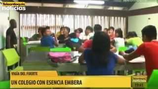 El Parque Educativo de Vigía del Fuerte está inspirado en la región