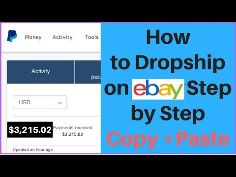 How to DROPSHIP on eBay STEP by STEP 2019 (Copy & Paste Job) 😊