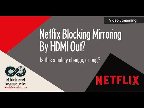 Fixed Netflix HDMI Out for Downloaded Content on Apple iOS 11 Devices Temporarily Disabled