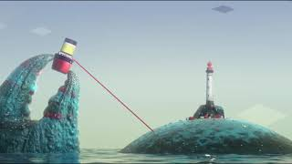 Award Winning CGI 3D Animated Short Film 'The Legend of The Crabe Phare' by Crabe Phare Team