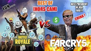 It's THE BORDEL! Best of Off cam with people (Fortnite VS Far cry 5)