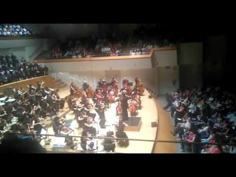 Concierto Fin Curso 2017 Orquesta Profesional Conservatorio Profesional Musica Valencia 5º y 6º