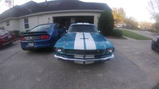 1966 and 2017 GT350