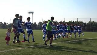 2017県リーグ 12節 バレイン下関 2-0 山口合同ガス 勝利の「そよ風ヨーグルト」