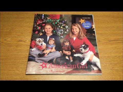 Retired American Girl Doll Catalog Look Through! ~October 2006