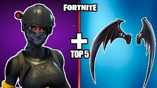 "TOP 5 ""BEST"" SKIN COMBINATIONS IN FORTNITE(THEY ARE WELL COOL TO USE THEM("