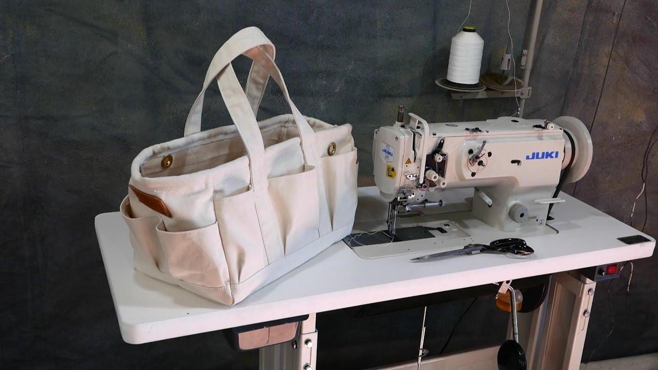 I Make A Cool Canvas Tool Bag   YouTube