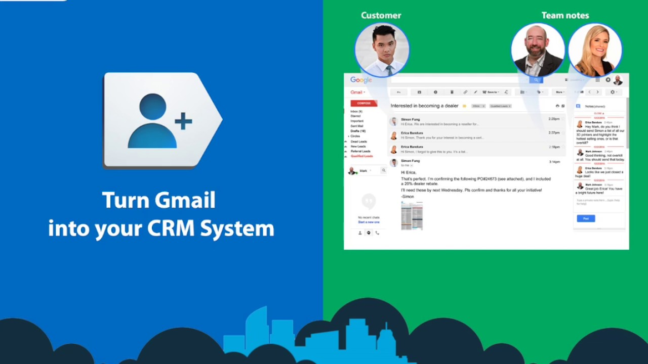 Free Turn Gmail Into Your S Crm System