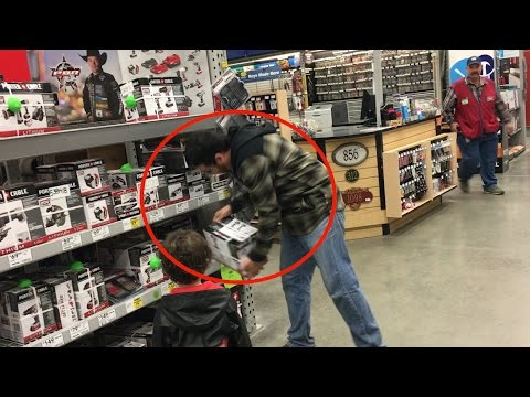 BREAKING NEWS: MAN CAUGHT ON CAMERA STEALING FROM LOWES STORE