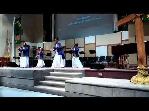 Champion by Darwin Hobbs Praise Dance.