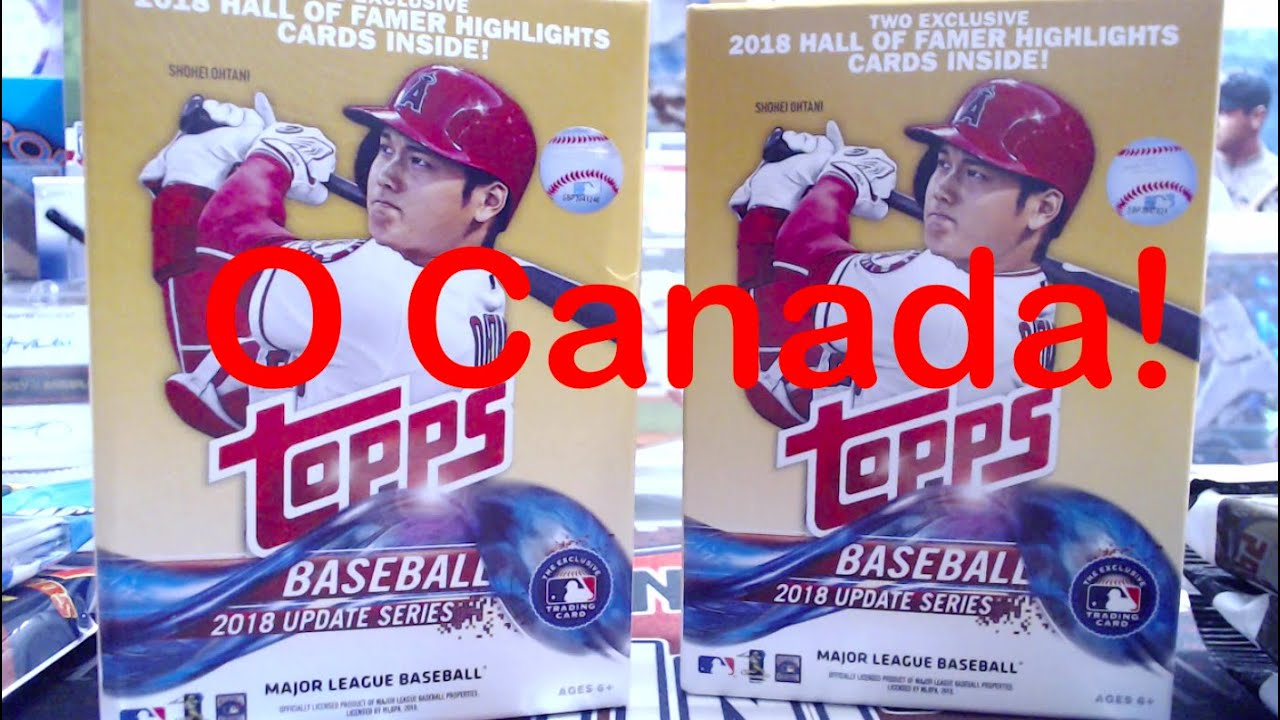 2018 Topps Update From Canada A Retail Hunt In Canada For 2018 Update Prizm Basketball More