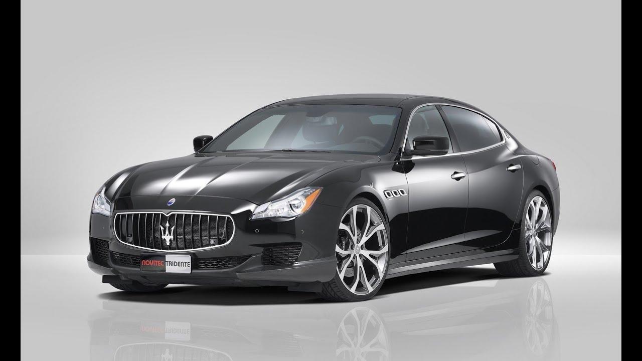 2015 Maserati Quattroporte By Novitec Tridente