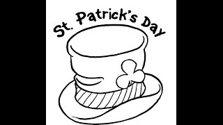 How to draw St Patrick day drawing step by step