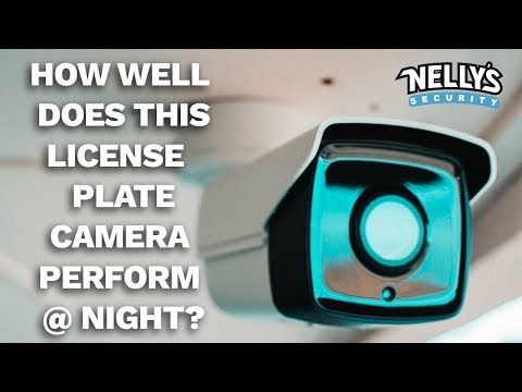 Capture License Plates At Night With This Powerful LPR Camera!
