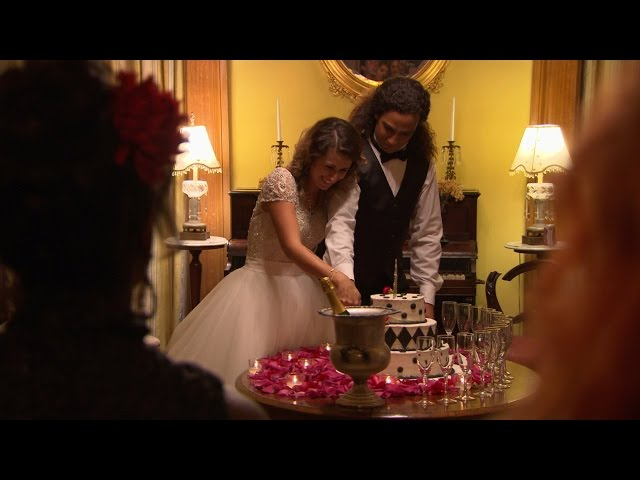 They Do! Lizzie and Moe Exchange Vows!   Pit Bulls & Parolees