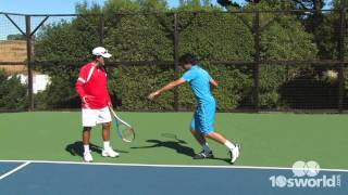 Practice Drill: Forehand Power - One Legged Forehand