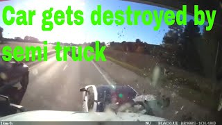 Day in the Life of a Truck Driver-Bad drivers,Driving fails -learn how to drive #7