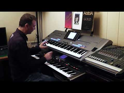 Level 42 Lessons In Love Yamaha Tyros 5 Roland G70 By Rico