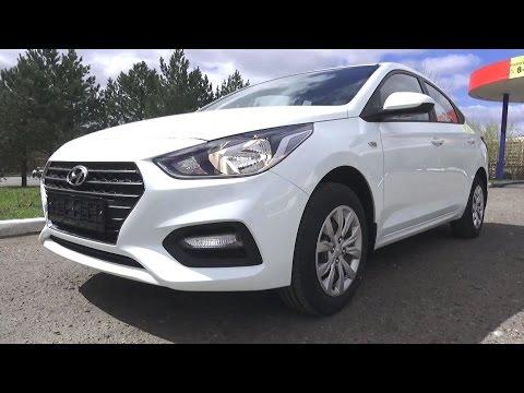 2017 Hyundai Solaris. Start Up, Engine, and In Depth Tour.