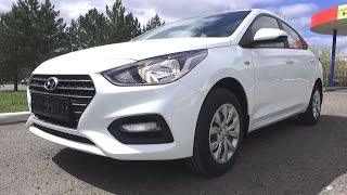 2017 Hyundai Solaris. Start Up, Engine, and In Depth Tour.