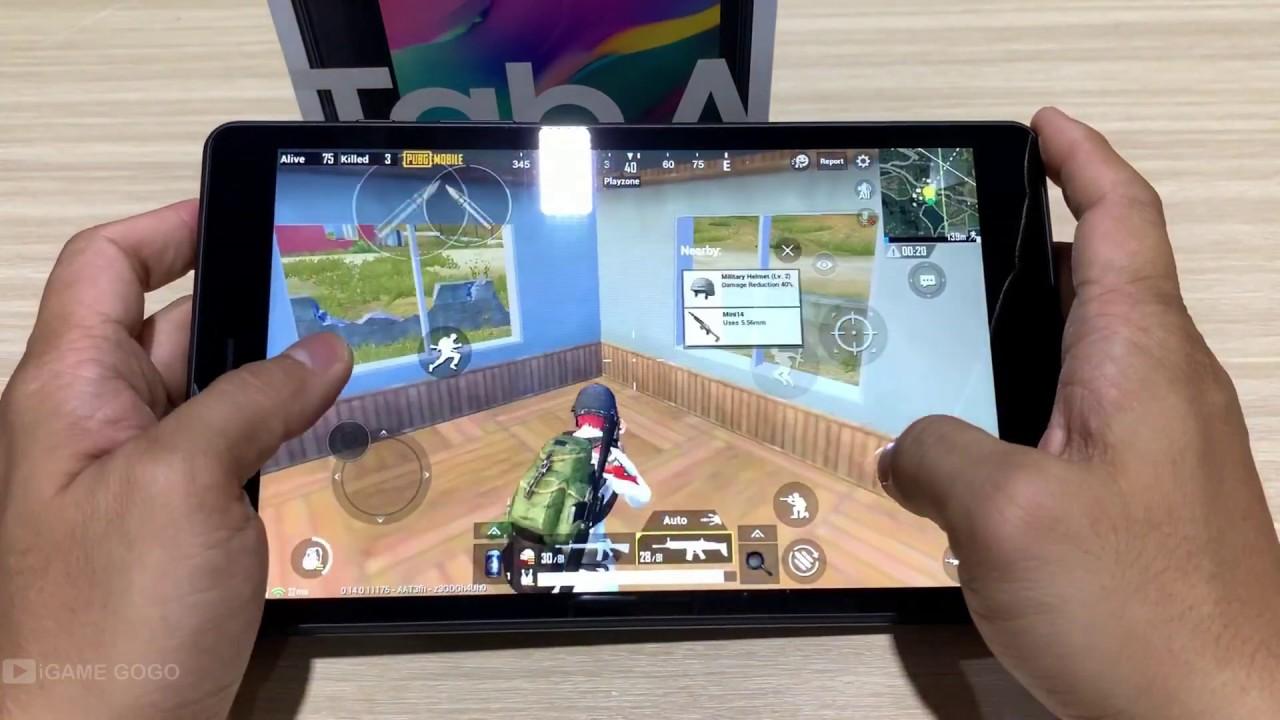 Samsung Galaxy Tab A8 2019 Test game Pubg Mobile