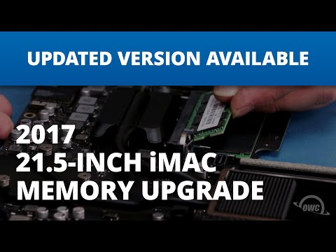 How to Install Up to 32GB of OWC Memory Into a 21.5-inch iMac 2017