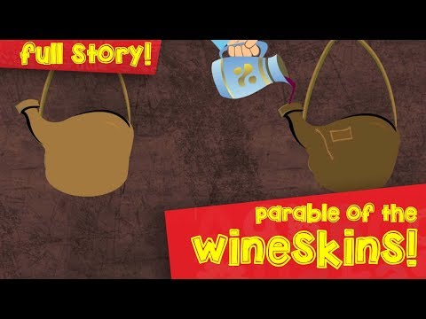 The Parable Of The Wineskins | English | Parables Of Jesus | Episode 02