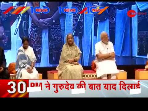 News 100: PM Modi, Sheikh Hasina inaugurate Bangladesh Bhavan in Shantiniketan