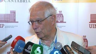 """Borrell: """"Italia tiene interés en acelerar"""" el traslado de migrantes del Open Arms"""