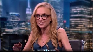 04-09-15 Kat Timpf on The Nightly Show - Bernie Announces His Presidential Run