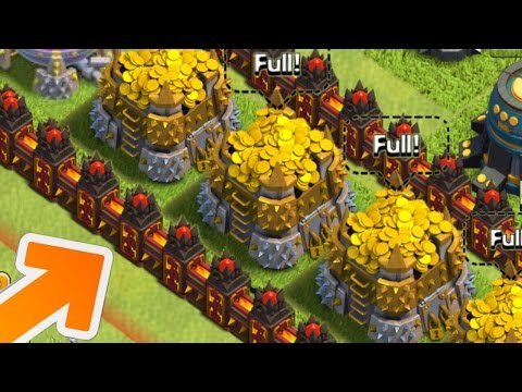 Clash of Clans - LEVEL 12 WALLS! NEW LVL 12 WALLS UPDATE IDEA! (CoC Town Hall 11 Update)