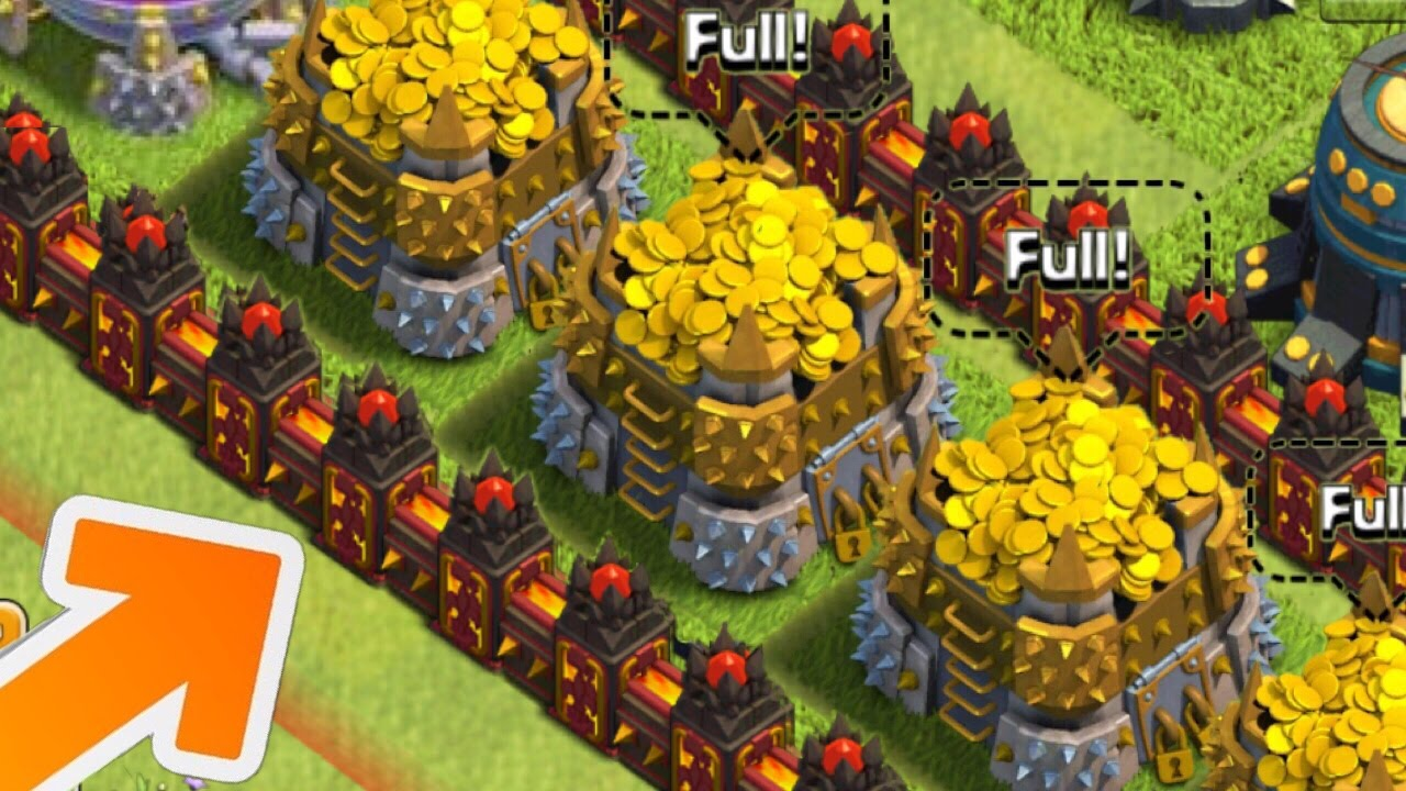 Clash Of Clans Level  Walls New Lvl  Walls Update Idea Coc Town Hall  Update Youtube