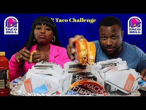 Taco Bell Challenge w/ Funny bonus footage/Stay tuned