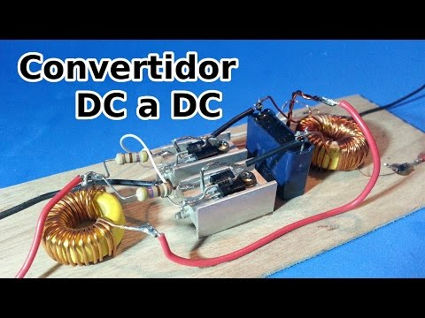 DC to DC or DC to AC inverter, voltage booster