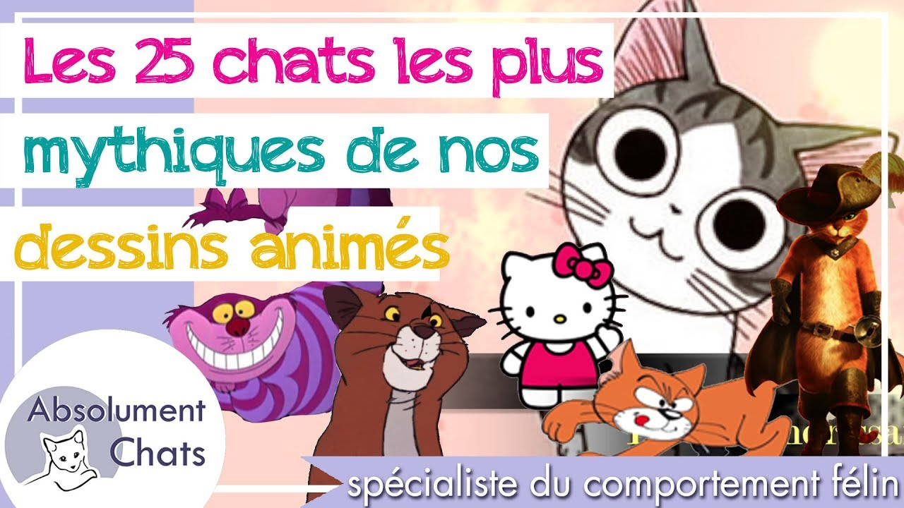 Les 25 Chats Les Plus Mythiques De Nos Dessins Animes Youtube