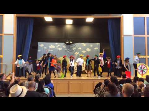 "2016-17 5th Grade""The Incredible Westward Movement"" (night)"