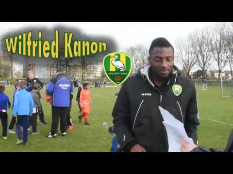 Wilfried Kanon - #ADO Den Haag & Ivory Coast player #football - Interview