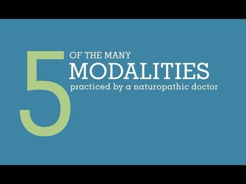 Naturopathic Medicine Modalities   Bastyr University