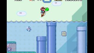 Super Mario World - Super Mario World Part 3 Casual Play - User video
