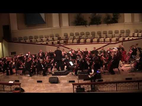 John Carney  Díaz perfoms Europa with The Woodlands Symphony