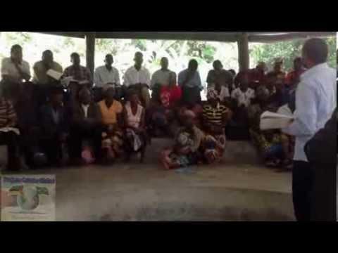 Pr Iranir no trabalho missionário em Moçambique - Africa