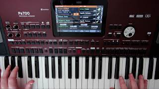 Korg PA700 Overview and Style Demos
