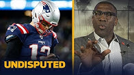 Shannon Sharpe gives Tom Brady an 'F' for his performance against the Giants | NFL | UNDISPUTED