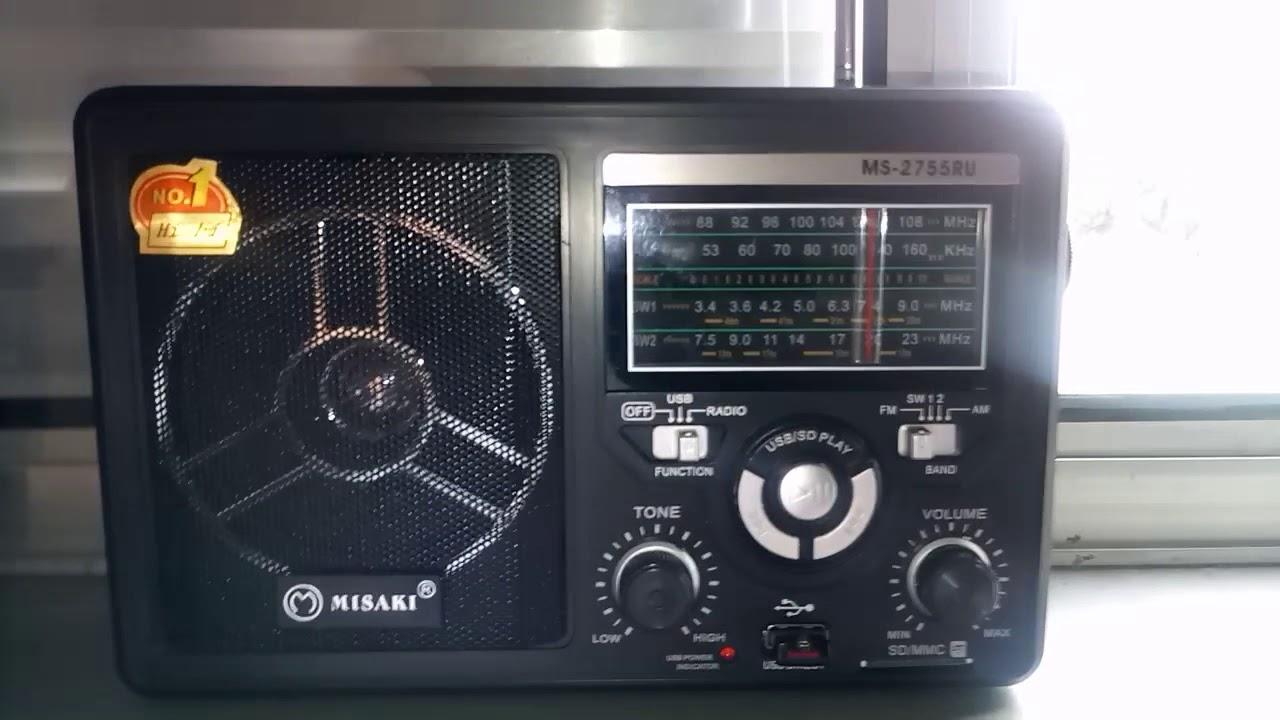 som de radio sintonizando