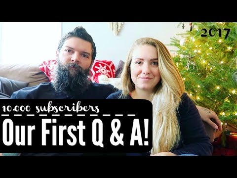 OUR 10K SUBSCRIBER Q & A || BABY NAMES || HOW WE MET || BOY OR GIRL??