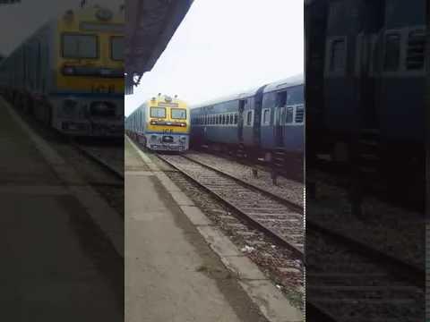 Demu Train Dibrugarh to Dangri Exterior YouTube video Part1