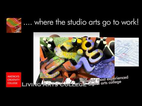 Best Art and Design School for the Media Arts - Living Arts College